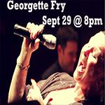 Georgette Fry Concert - Fri., September 29, 2017